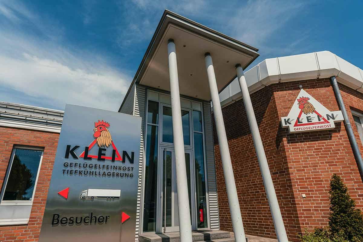 Klein GmbH & Co. KG Luftbild Firmengebäude